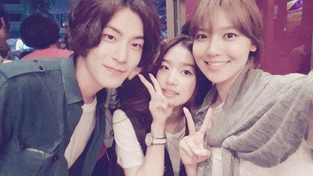 130716 Sooyoung and co stars
